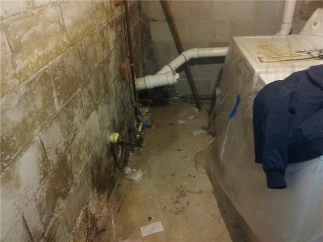 Waterproofing System Saves Ewing Township Laundry Room