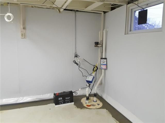 New Sump Pump System and Wall Panels Installed in Leonardo, NJ