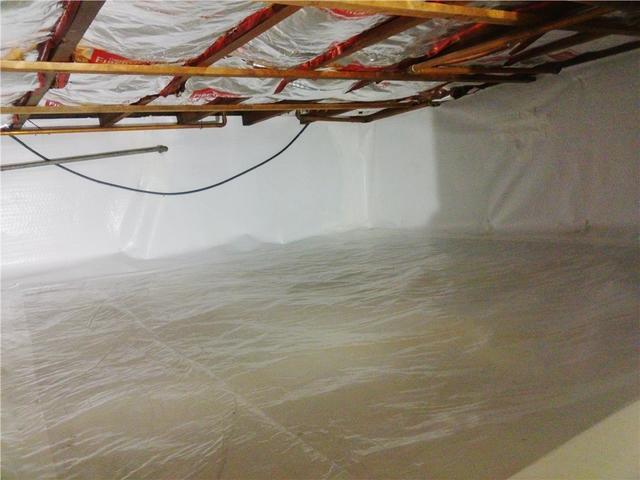 Vapor Barrier System Installed in Maplewood, NJ