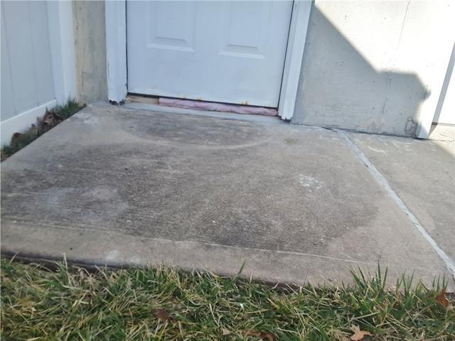 Front Walkway Settlement in Bayville, NJ