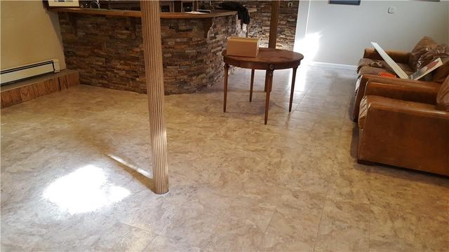 Flooded Finished Basement's Floors are Replaced in Ridgewood, NJ
