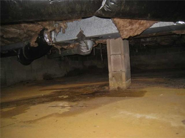 Damp and Dirty Crawl Space Repair in Hightstown, NJ