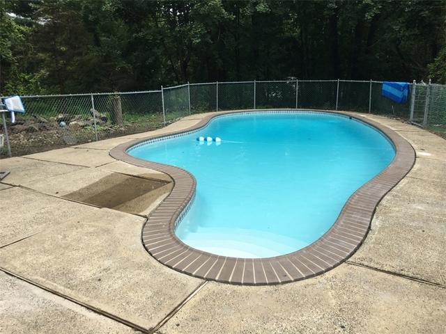 Sinking Pool Patio in Hopewell, NJ