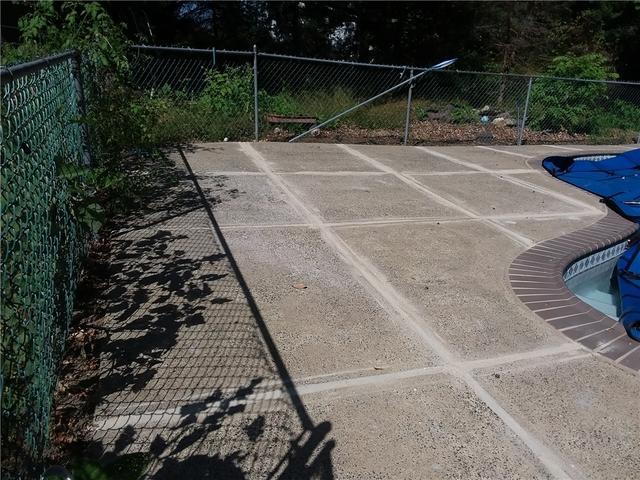 PolyLevel Raises Concrete Around Pool Hopewell, NJ