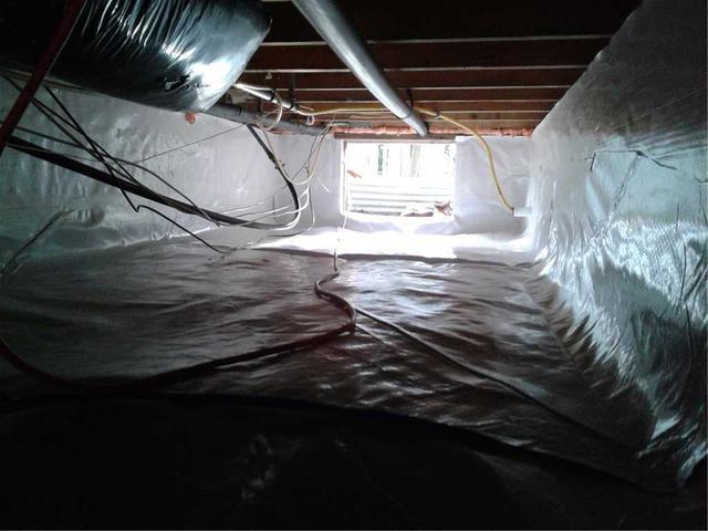 New Vapor Barrier Installed in Little Egg Harbor, NJ Home