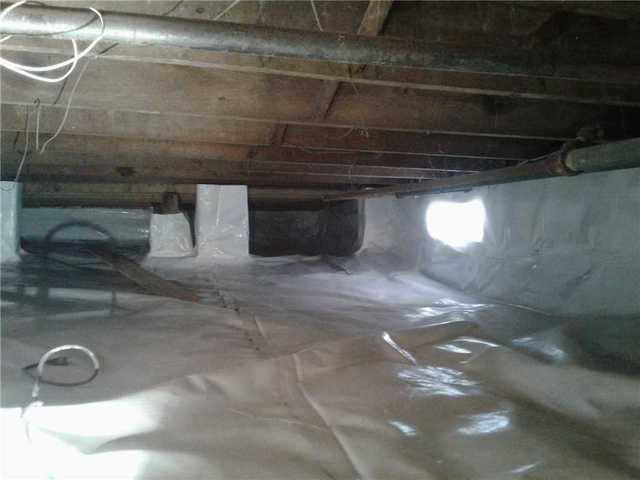 Damp Crawl Space Repaired in Neptune, NJ