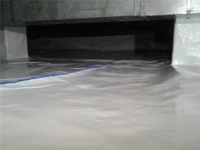 Humid Crawl Space Repaired in Delran, NJ