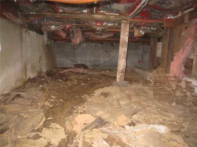 Wet Crawl Space in Boonton, NJ