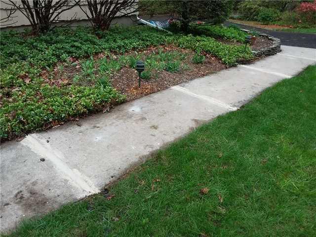 Raised Sidewalk at Ramsey, NJ Home