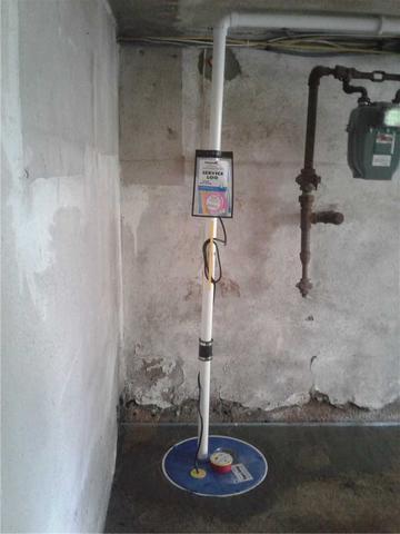 New Sump Pump Installed in Essex Falls, NJ