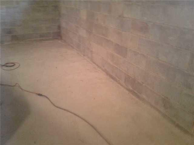 Waterproofed Basement in Plumsted Township, NJ