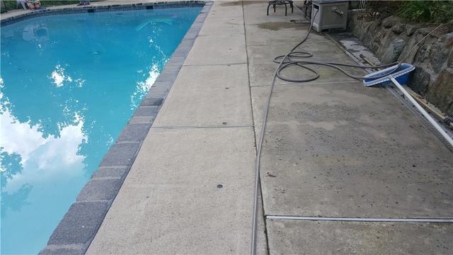 Raised Pool Patio in Chester, NJ
