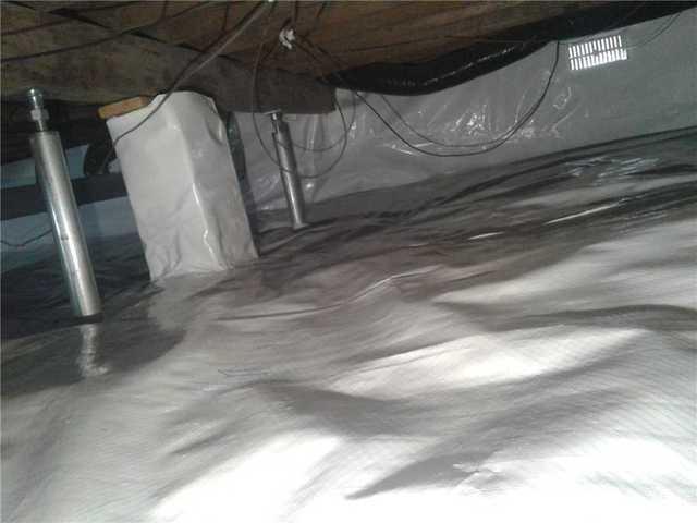 Crawl Space Stabilization and Waterproofing Repair in Keansburg, NJ