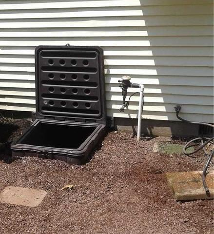 Old Access Well to Crawl Space Replaced in Jackson, NJ