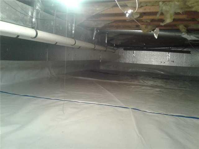 Crawl Space Encapsulation in Plainsboro, NJ