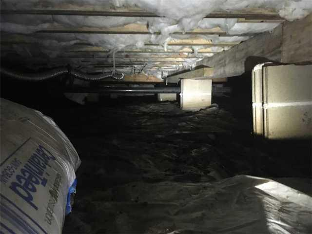 Crawl Space Transformation Encapsulation in Mystic Island, NJ