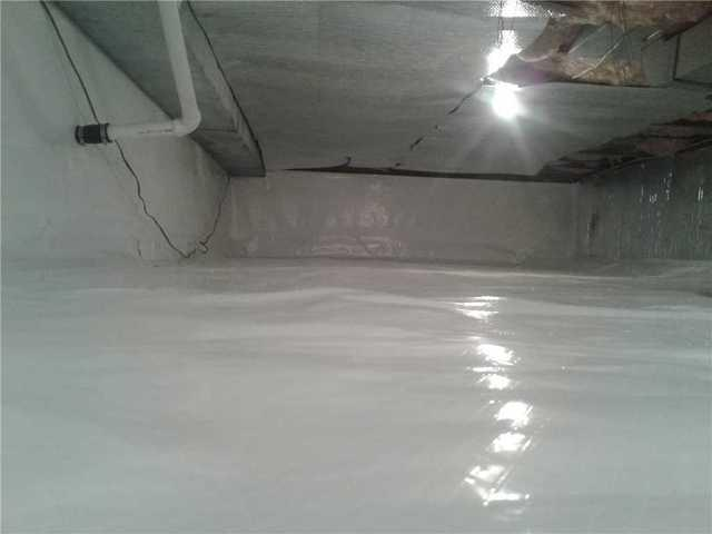 Crawl Space Repaired in Middletown, NJ