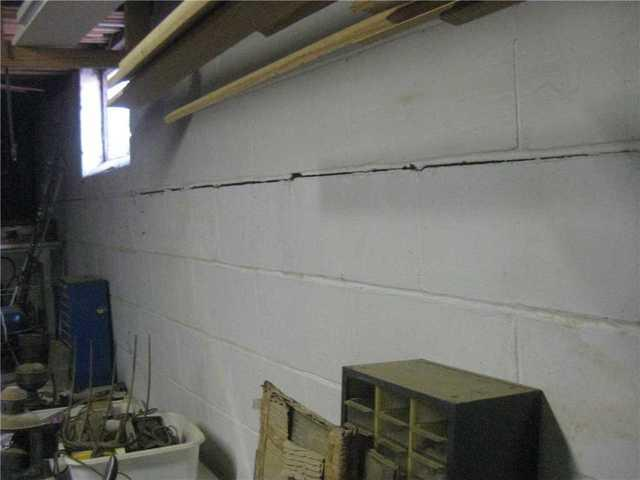 Foundation Wall Reinforcing System installed in Beachwood, NJ