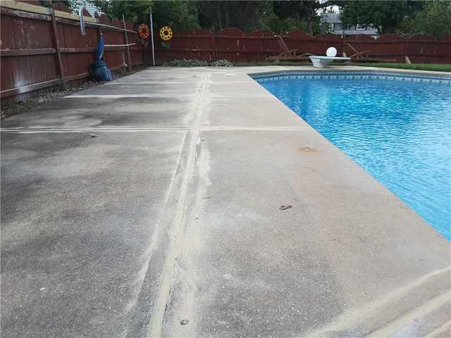 Pool Deck Sinking and Settling in Brick, NJ