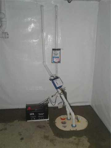 TripleSafe Sump Pump System Installed, Monmouth County, NJ
