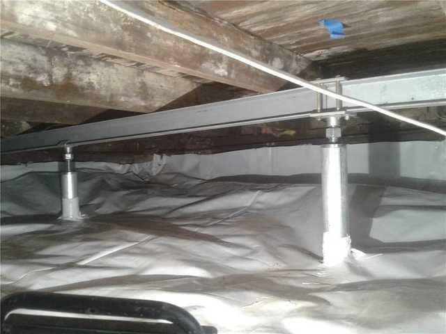 Crawl Space Repaired in Bridgewater, NJ