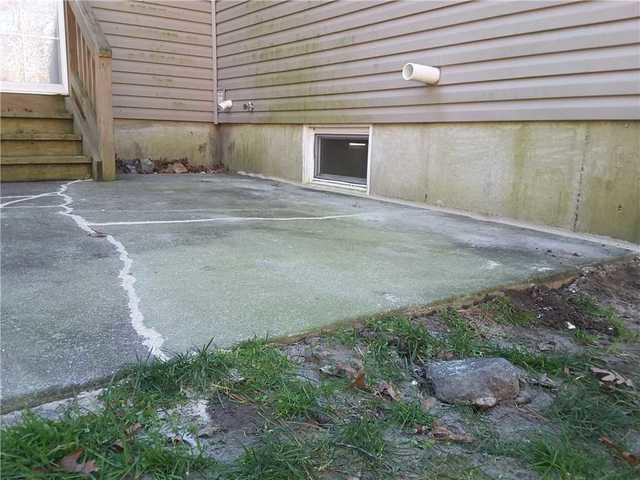 Cracked Patio Repaired with NexusPro in Absecon, NJ