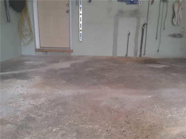 Sinking Garage Floor Repaired By Quality 1st Basements