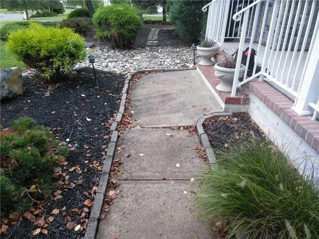 Sinking Sidewalk in Lambertville, NJ