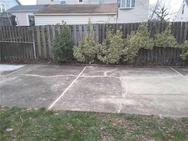 Cracked Concrete Driveway Sealed and Stabilized in Fords, NJ