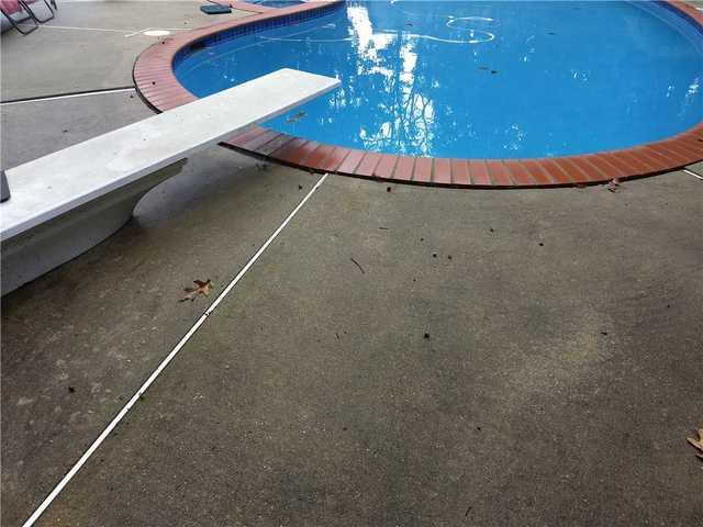 Sinking Concrete by a Pool in Voorhees, NJ