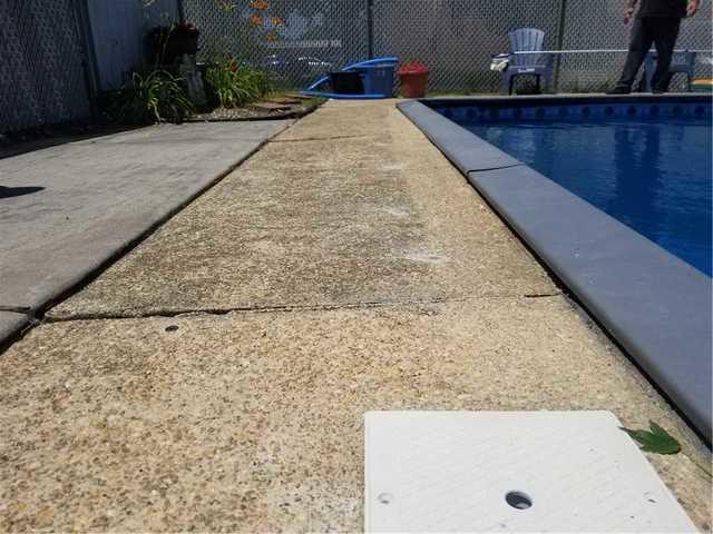 Pool Deck Settlement in Burlington, NJ