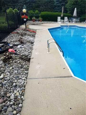 Lifting and Leveling Pool Deck Concrete in Middletown, NJ