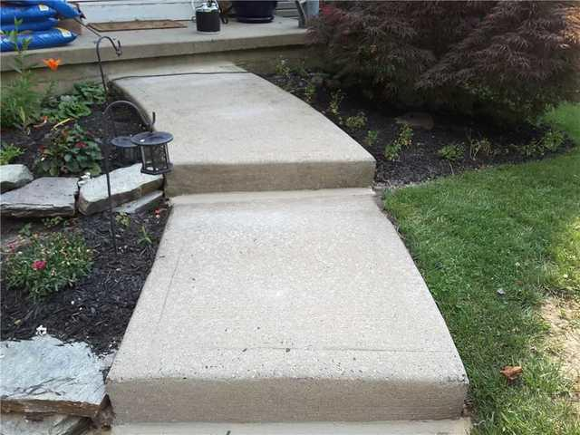 Walkway Lift and Level in Mercer County, NJ