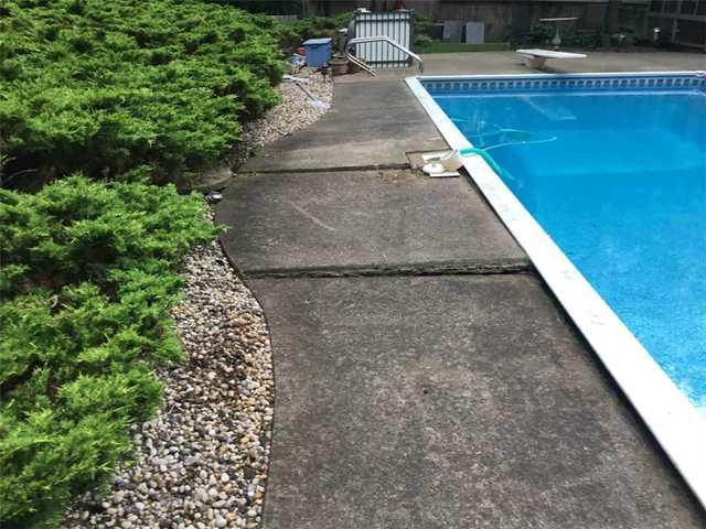 Pool Slabs Raised in Ringwood, NJ