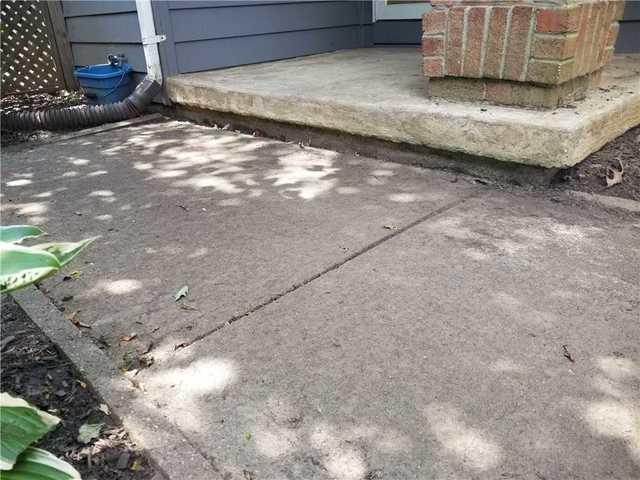 Sidewalk Settlement in Monroe, NJ