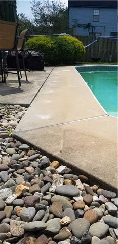 Pool Deck Raised in Glassboro, NJ