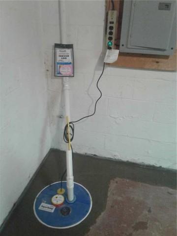 Failing Sump Pump Replaced In Wayne, NJ