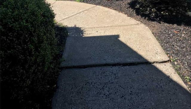 Trip Hazard Removed In Jackson, NJ