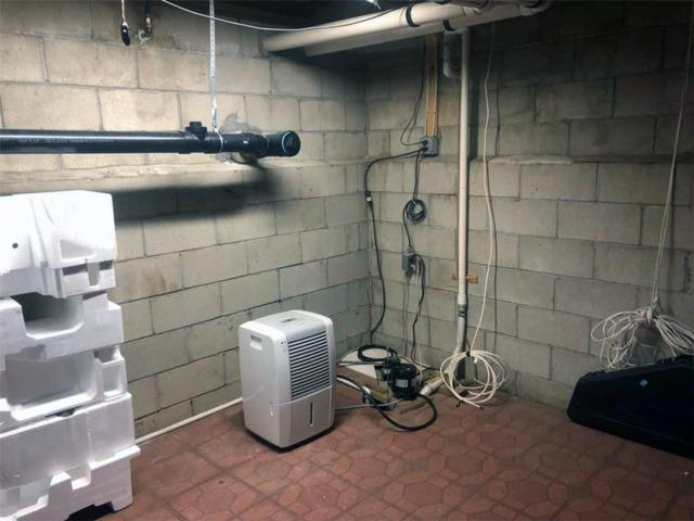 Basement Protected By Triple Safe In Holmdel, NJ