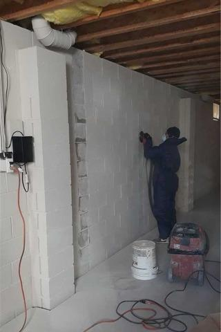 Bowing Walls In Manahawkin, NJ Stabilized With Carbon Armor