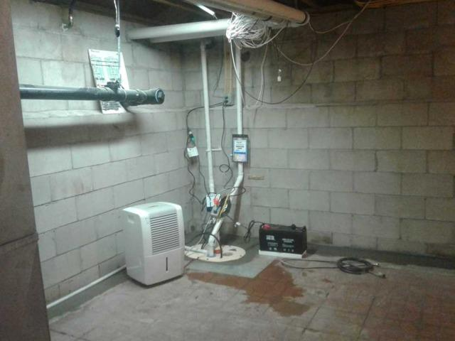 The Ultimate Sump Pump Installed in Holmdel, NJ