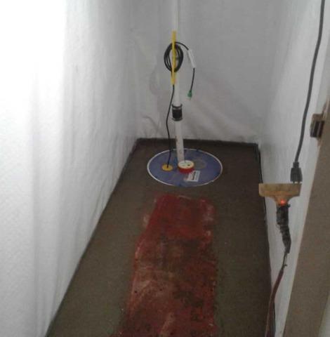 Wet Basement in Cresskill, NJ Waterproofed