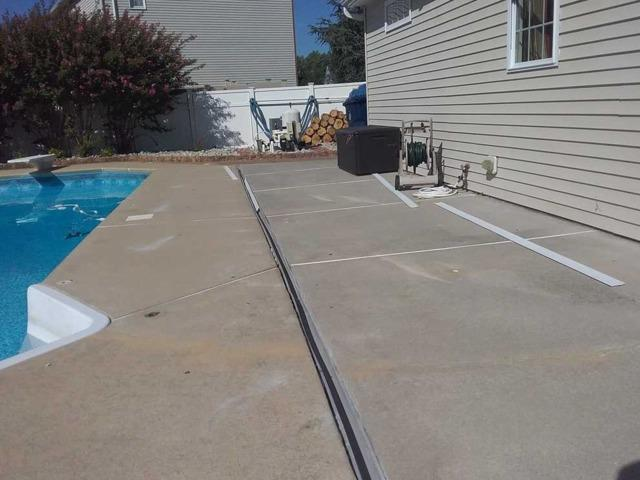 Pool Deck Raising in Mullica Hill, NJ