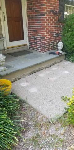 Concrete Steps Sinking & Settling in Moorestown, NJ