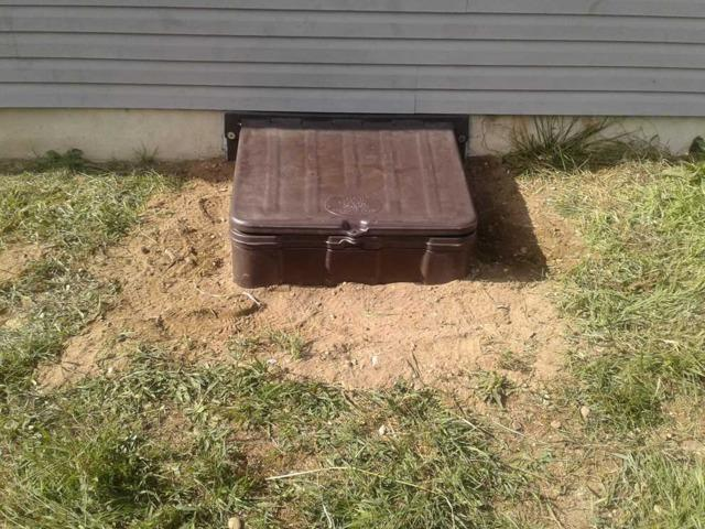 Updated Crawl Space Entrance in Lacey Township, NJ