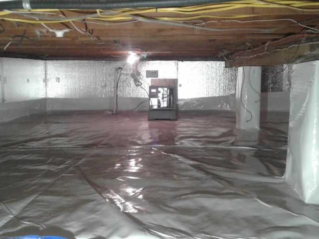 CrawlSpace Insulation and moisture control in Pequannock, NJ