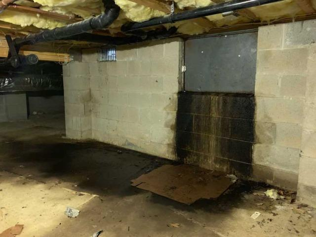 Nasty Crawl Space Repaired in Monmouth Beach, NJ