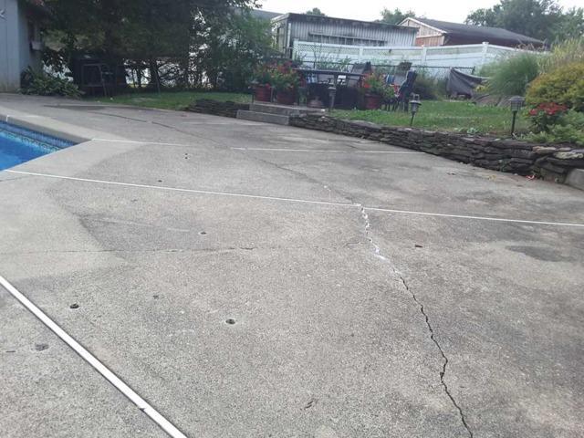 Lake Hiawatha Pool Deck Sinking and Settling
