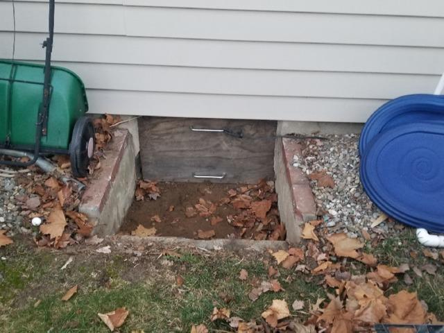 Sturdy Waterproof Access to Crawl Space Installed - Hazlet, NJ