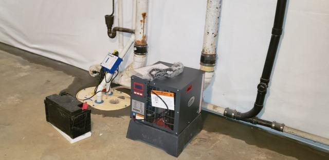 Reducing Moisture and Humidity in a Basement in Red Bank, NJ